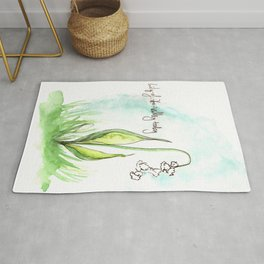 Journal Entry: Lily of the Valley Rug