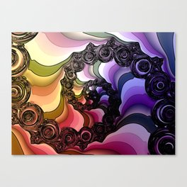 fractal design -46- Canvas Print