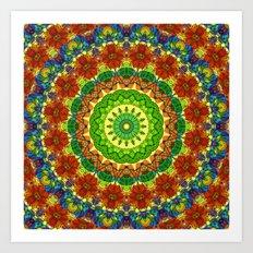Mandala Mehndi Style G493 Art Print