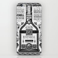 lotr iPhone & iPod Skins featuring Lord of the Rings Rivendell Vineyards Vintage Ad by Barrett Biggers