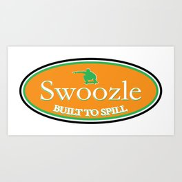 Swoozle Soil It Green Art Print