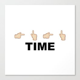 Limiter Time Canvas Print
