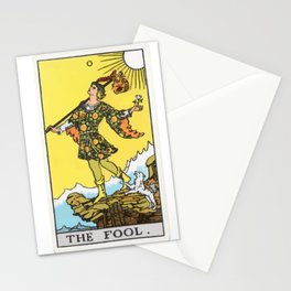 00 - The Fool Stationery Cards