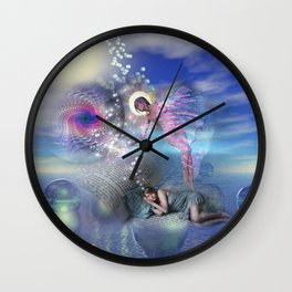 A novel can be a portal into parallel realities Wall Clock