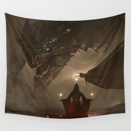 One Who Knows No Mercy Wall Tapestry