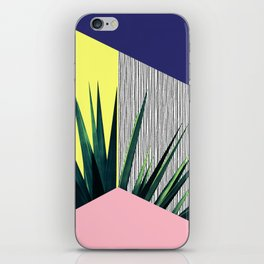Geometric Leaves iPhone Skin