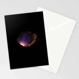 A hole of light and stars Stationery Cards