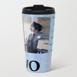 Two Cops Movie Poster Metal Travel Mug