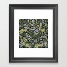 William Morris Seaweed Pattern Framed Art Print