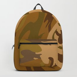 Pattern army style Backpack