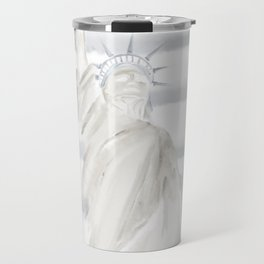 Lady Liberty • Americana Sepia Travel Mug