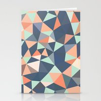 southwest Stationery Cards featuring Southwest Tris by Beth Thompson