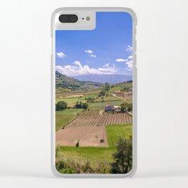 Majella Clear iPhone Case