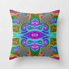 BBQSHOES: Fractal Math Art #1449 Throw Pillow