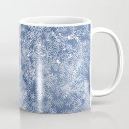 Winter frost pattern Coffee Mug
