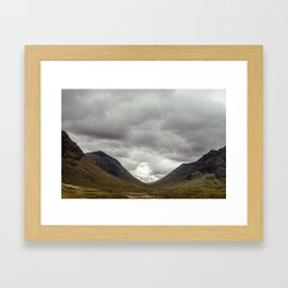 Scottish Valley Framed Art Print