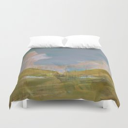 Mapping the heart Duvet Cover