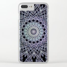 Simetry Star Clear iPhone Case