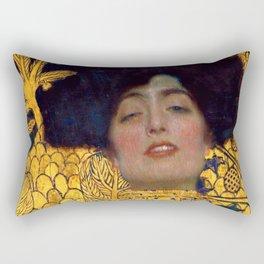 """Gustav Klimt """"Judith I"""" Rectangular Pillow"""