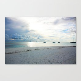 Meeru Island, The Maldives Canvas Print