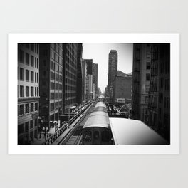 The Loop Art Print
