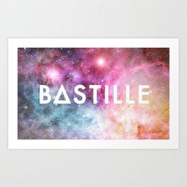 Bastille Galaxy 2 Art Print