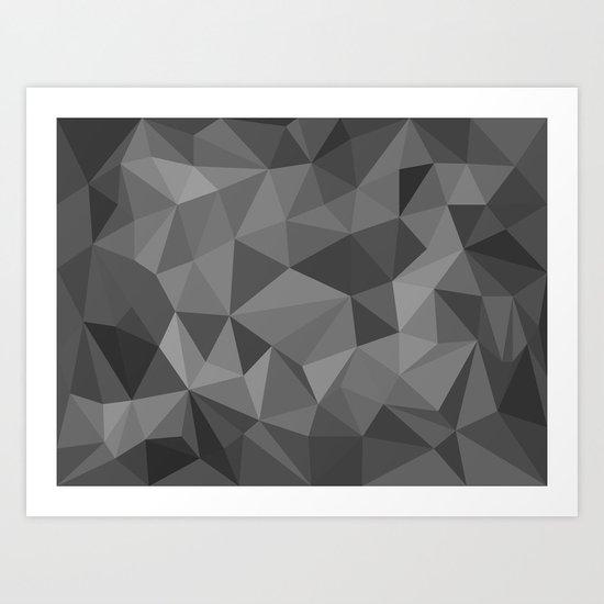 black polygon background by artsimo