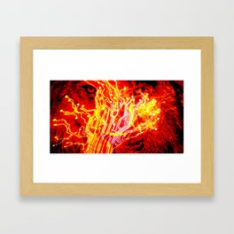 Wild technology Framed Art Print
