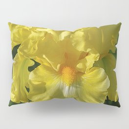 Golden Iris flower - 'Power of One' Pillow Sham