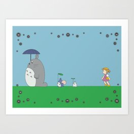 hey lets go Art Print