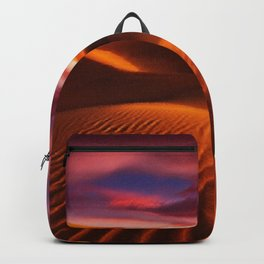 Arabian Sands Sunset Landscape by Jeanpaul Ferro Backpack