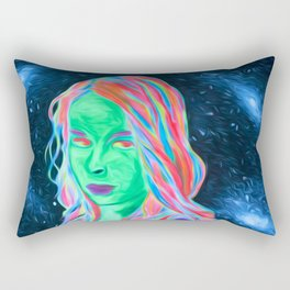Space girl Rectangular Pillow