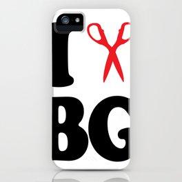 I Scissor Bianca Gervais iPhone Case
