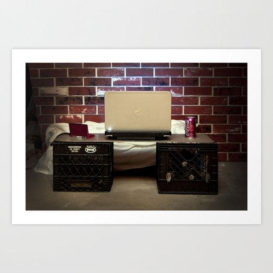Desk Art Print