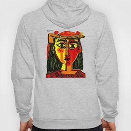 Pablo Picasso Woman In A Hat 1962 T Shirt, Artwork, tshirt, tee, jersey, poster, artwork Hoody