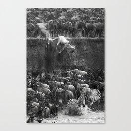 Great Migration - Serengeti Canvas Print