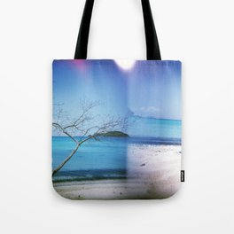 Beach Multiple Exposure Tote Bag