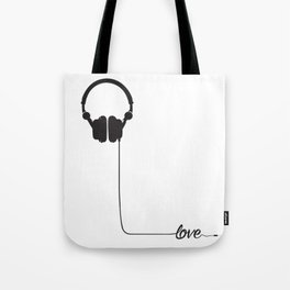 For the love of music 2.0 Tote Bag