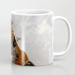 "Frederic Remington Western Art ""The Blanket Signal"" Coffee Mug"