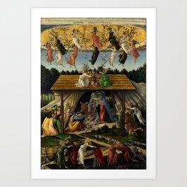 "Sandro Botticelli ""The Mystical Nativity"" Art Print"