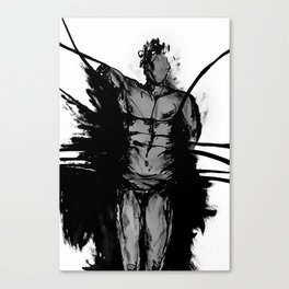Male nude. Canvas Print