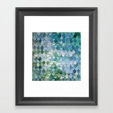 REALLY MERMAID OCEAN LOVE Framed Art Print