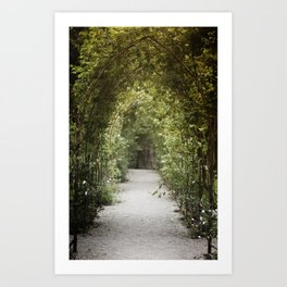 In to Art Print