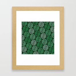 Op Art 167 Framed Art Print