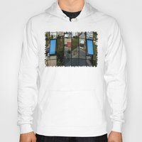 architecture Hoodies featuring architecture Facade by Karl-Heinz Lüpke