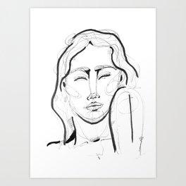 Selfie Art Print