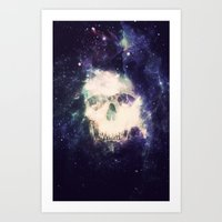dead space Art Prints featuring Dead Space by Nicholas Redfunkovich