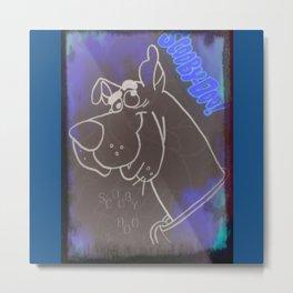 Scooby Metal Print