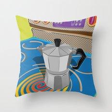 Cafecito Throw Pillow