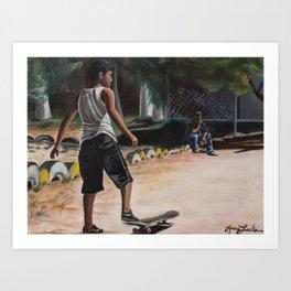'El Soñador' (The Dreamer) Art Print
